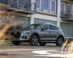 2021 Audi Q5 55 TFSI e quattro PHEV (US-Spec) Front Three-Quarter Wallpapers 150x120 (16)