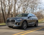 2021 Audi Q5 55 TFSI e quattro PHEV (US-Spec) Front Three-Quarter Wallpapers 150x120 (2)