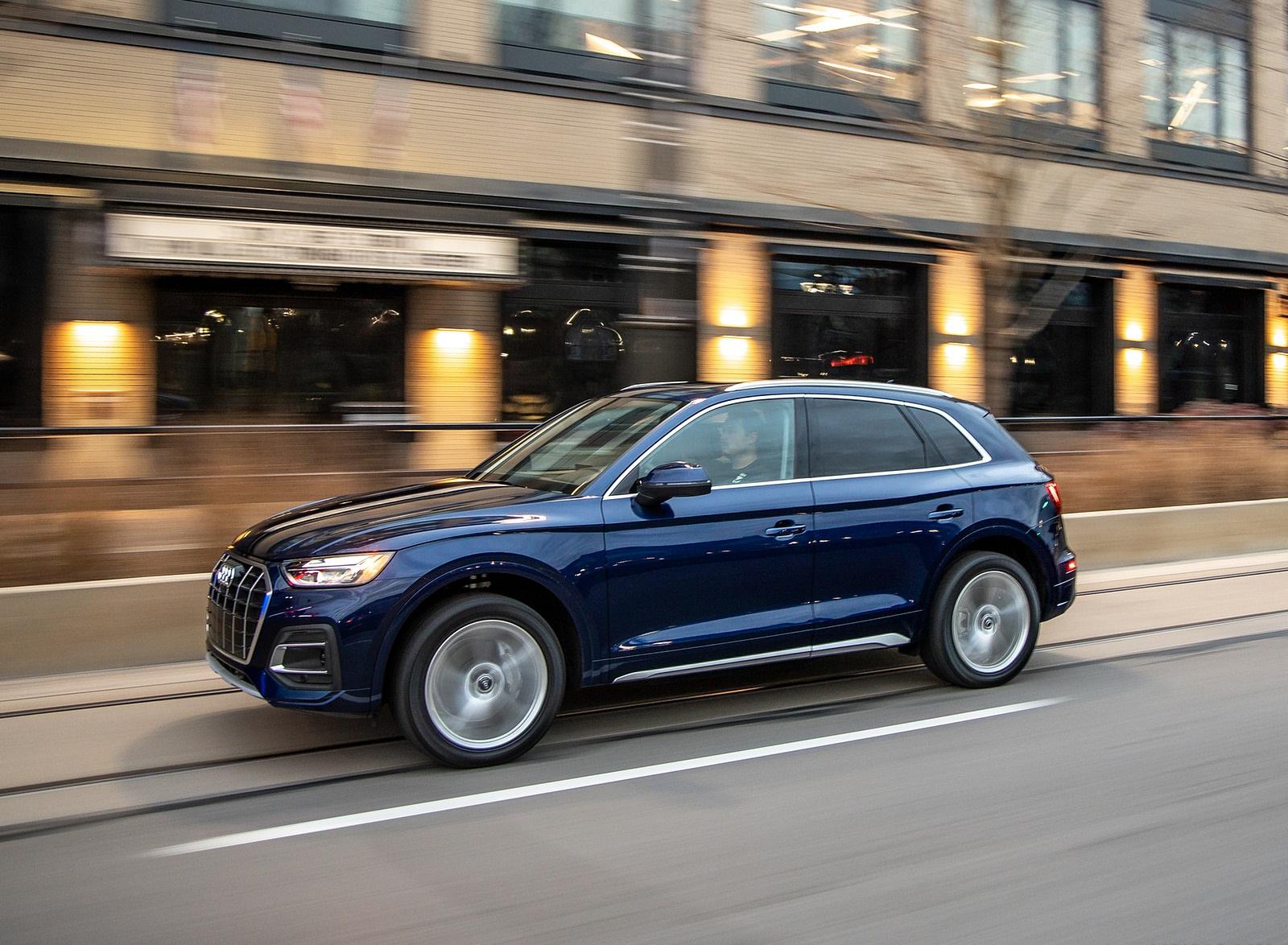 2021 Audi Q5 (US-Spec) Front Three-Quarter Wallpapers (5)