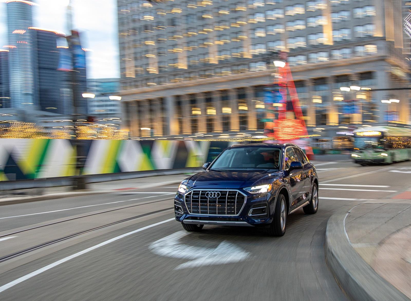 2021 Audi Q5 (US-Spec) Front Wallpapers (10)