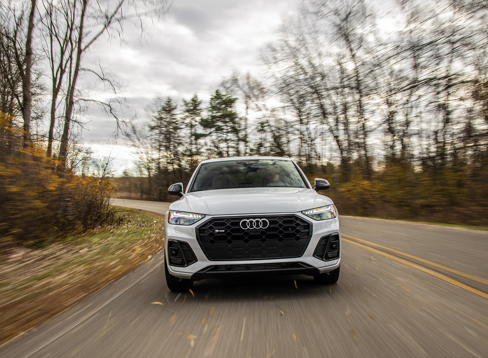 2021 Audi SQ5 (US-Spec) Front Wallpapers (8)