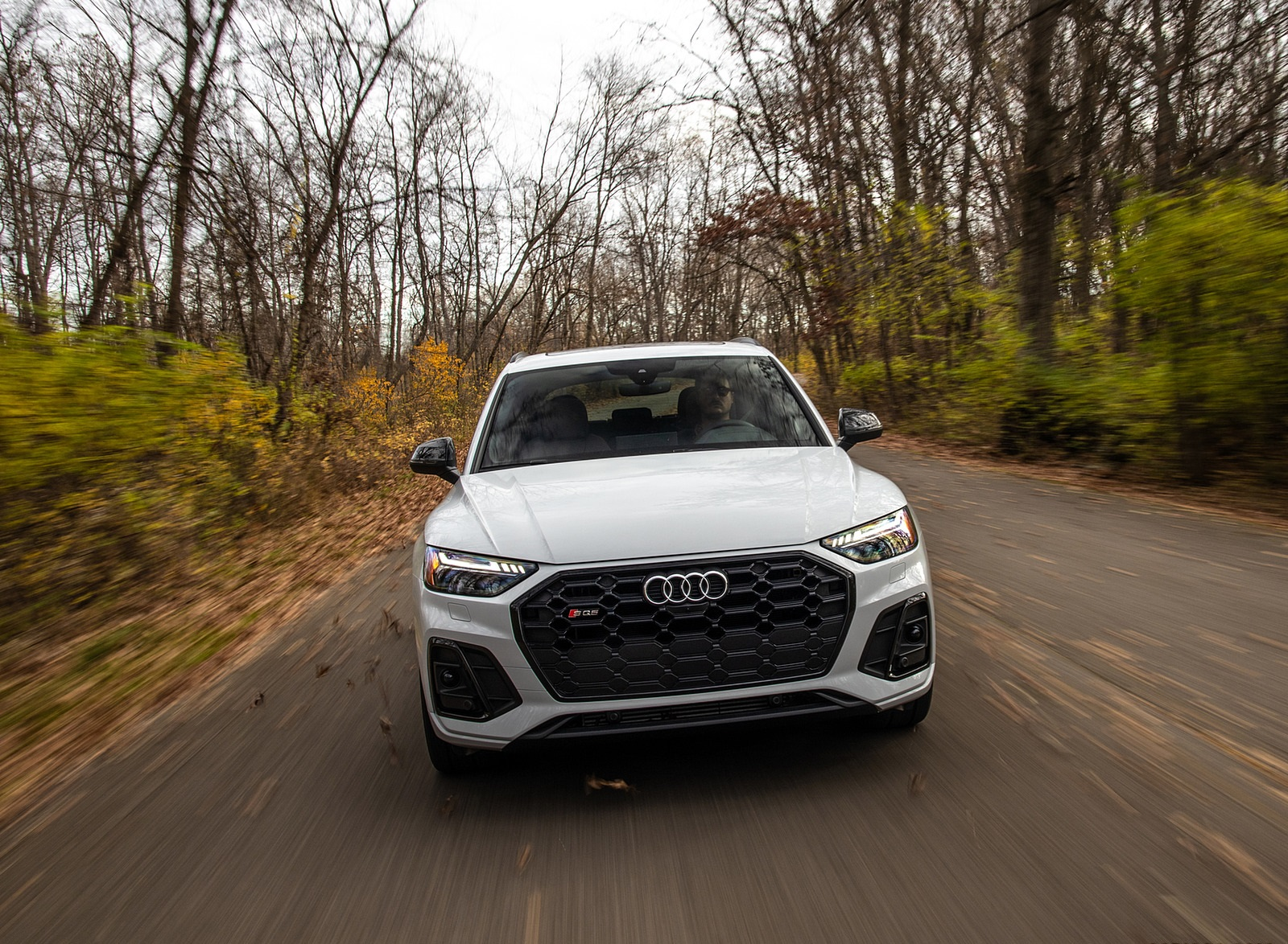 2021 Audi SQ5 (US-Spec) Front Wallpapers  (9)