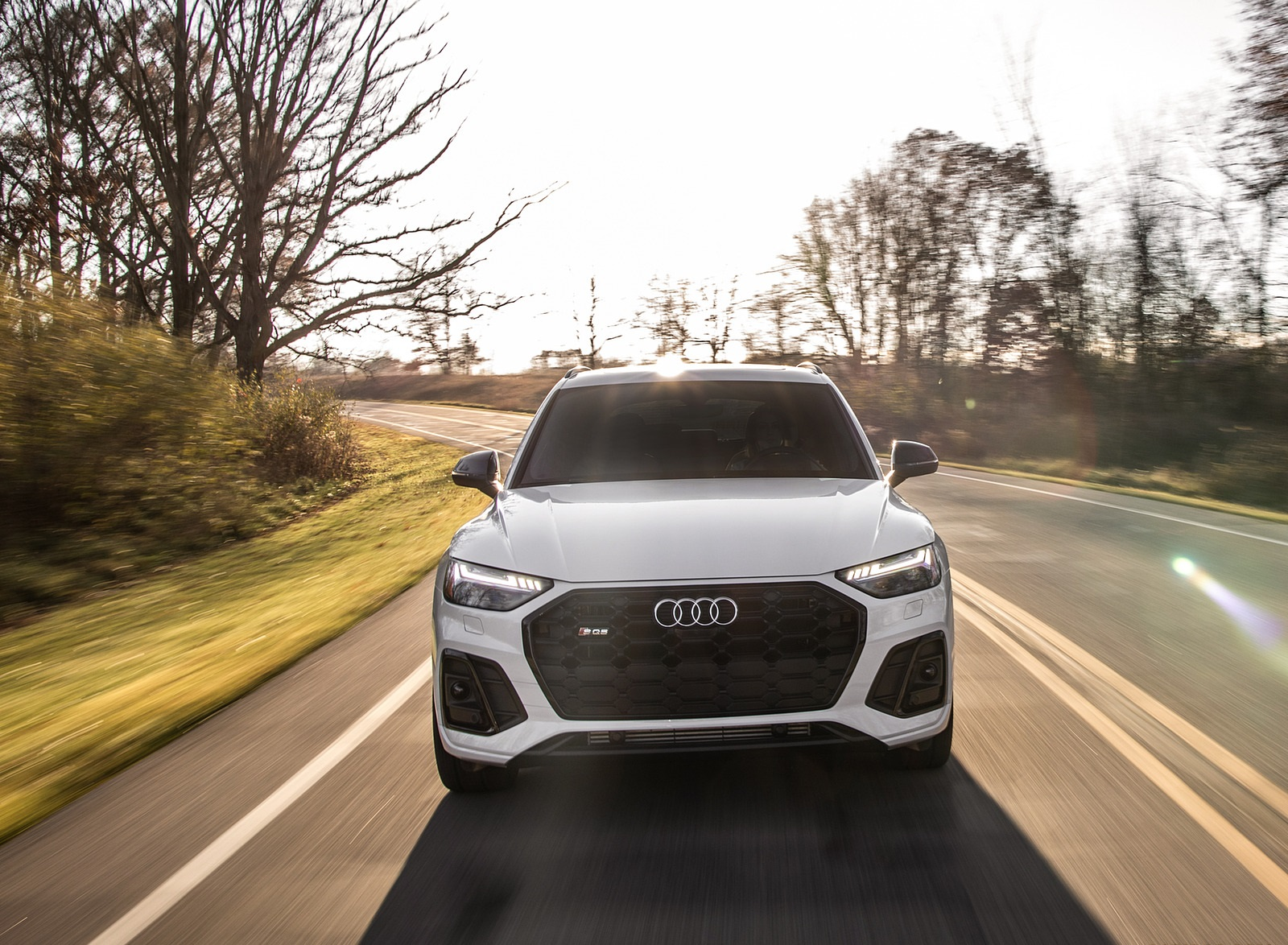 2021 Audi SQ5 (US-Spec) Front Wallpapers (10)