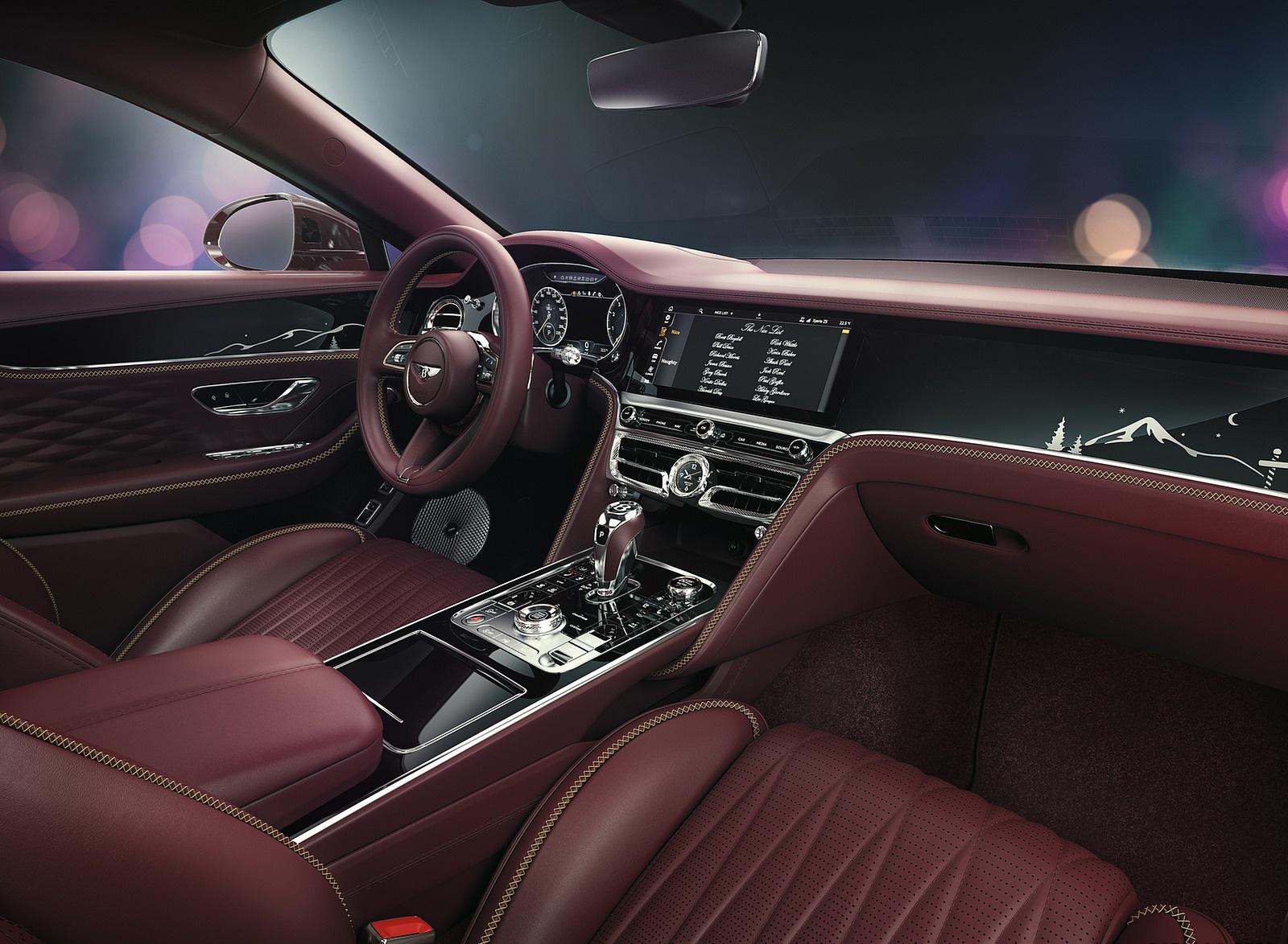 2021 Bentley Flying Spur V8 Reindeer Eight Interior Wallpapers (5)