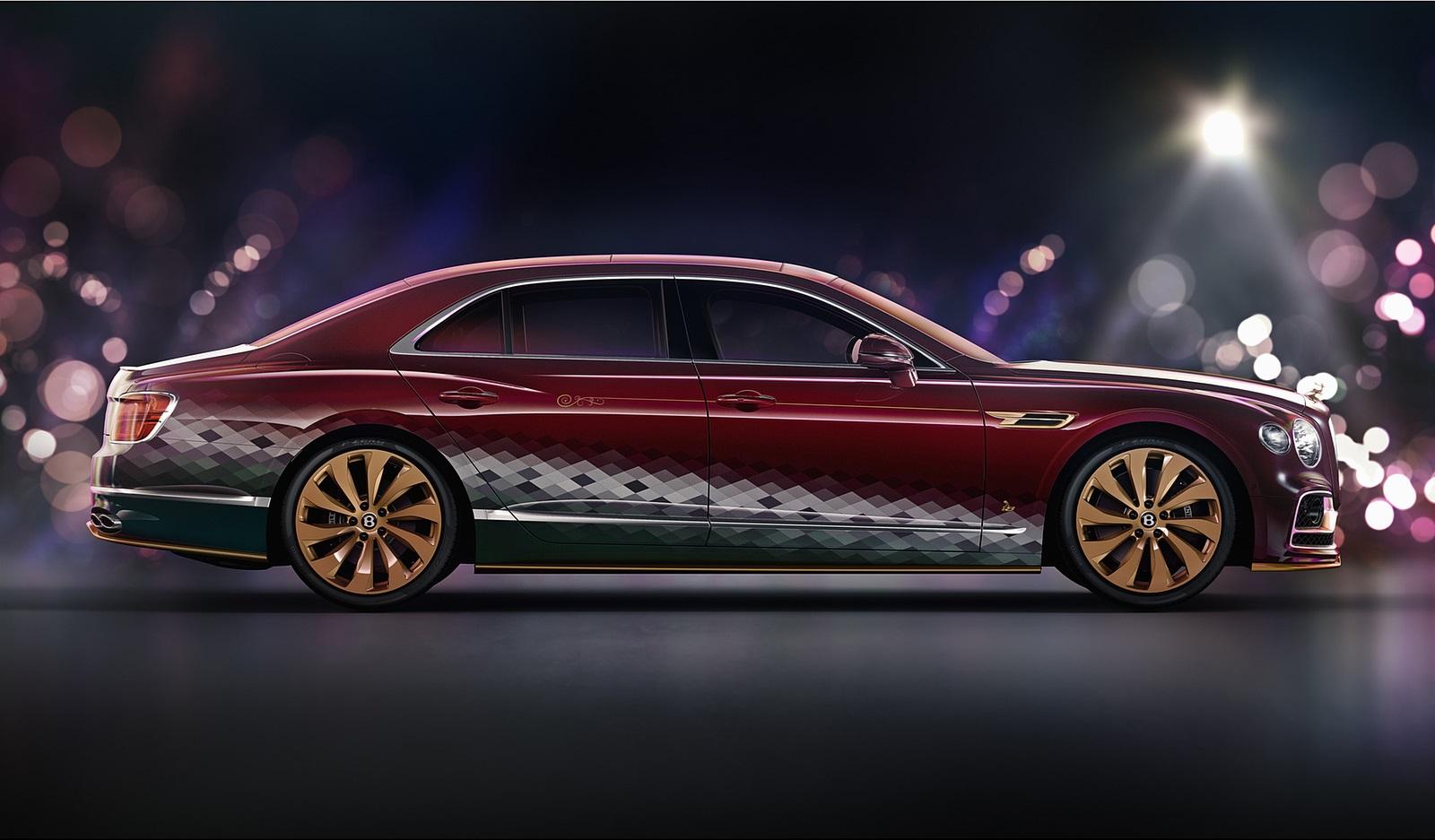 2021 Bentley Flying Spur V8 Reindeer Eight Side Wallpapers (2)