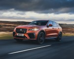 2021 Jaguar F-PACE SVR (Color: Atacama Orange) Front Three-Quarter Wallpapers  150x120 (37)