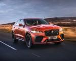 2021 Jaguar F-PACE SVR (Color: Atacama Orange) Front Three-Quarter Wallpapers 150x120 (34)