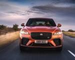 2021 Jaguar F-PACE SVR (Color: Atacama Orange) Front Wallpapers 150x120 (38)