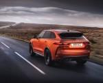 2021 Jaguar F-PACE SVR (Color: Atacama Orange) Rear Three-Quarter Wallpapers 150x120 (39)