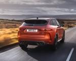2021 Jaguar F-PACE SVR (Color: Atacama Orange) Rear Wallpapers  150x120 (40)