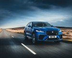 2021 Jaguar F-PACE SVR (Color: Velocity Blue) Front Three-Quarter Wallpapers  150x120 (2)
