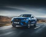 2021 Jaguar F-PACE SVR (Color: Velocity Blue) Front Three-Quarter Wallpapers  150x120 (3)