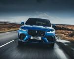 2021 Jaguar F-PACE SVR (Color: Velocity Blue) Front Wallpapers 150x120 (6)
