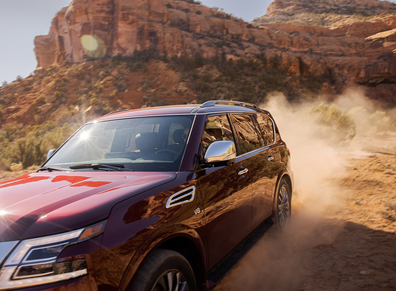 2021 Nissan Armada Detail Wallpapers (7)