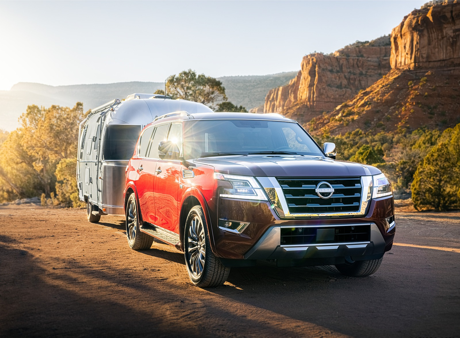 2021 Nissan Armada Front Three-Quarter Wallpapers (1)