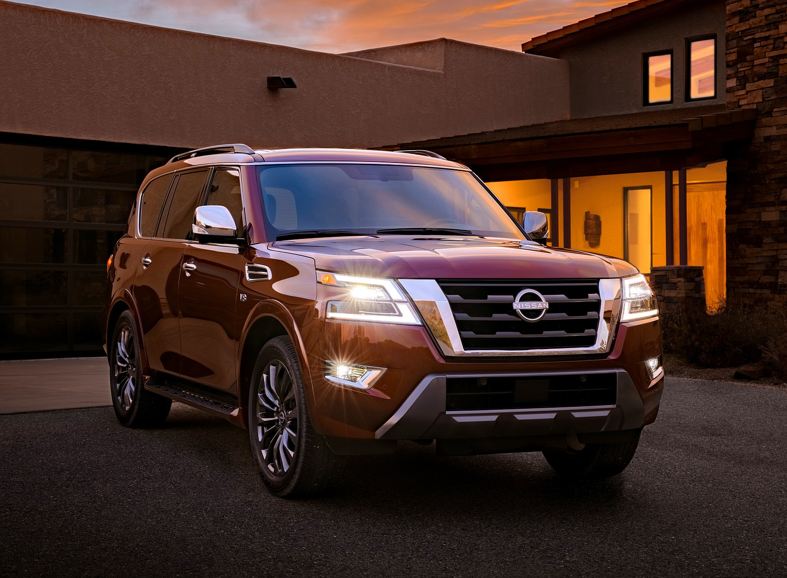 2021 Nissan Armada Front Three-Quarter Wallpapers (8)