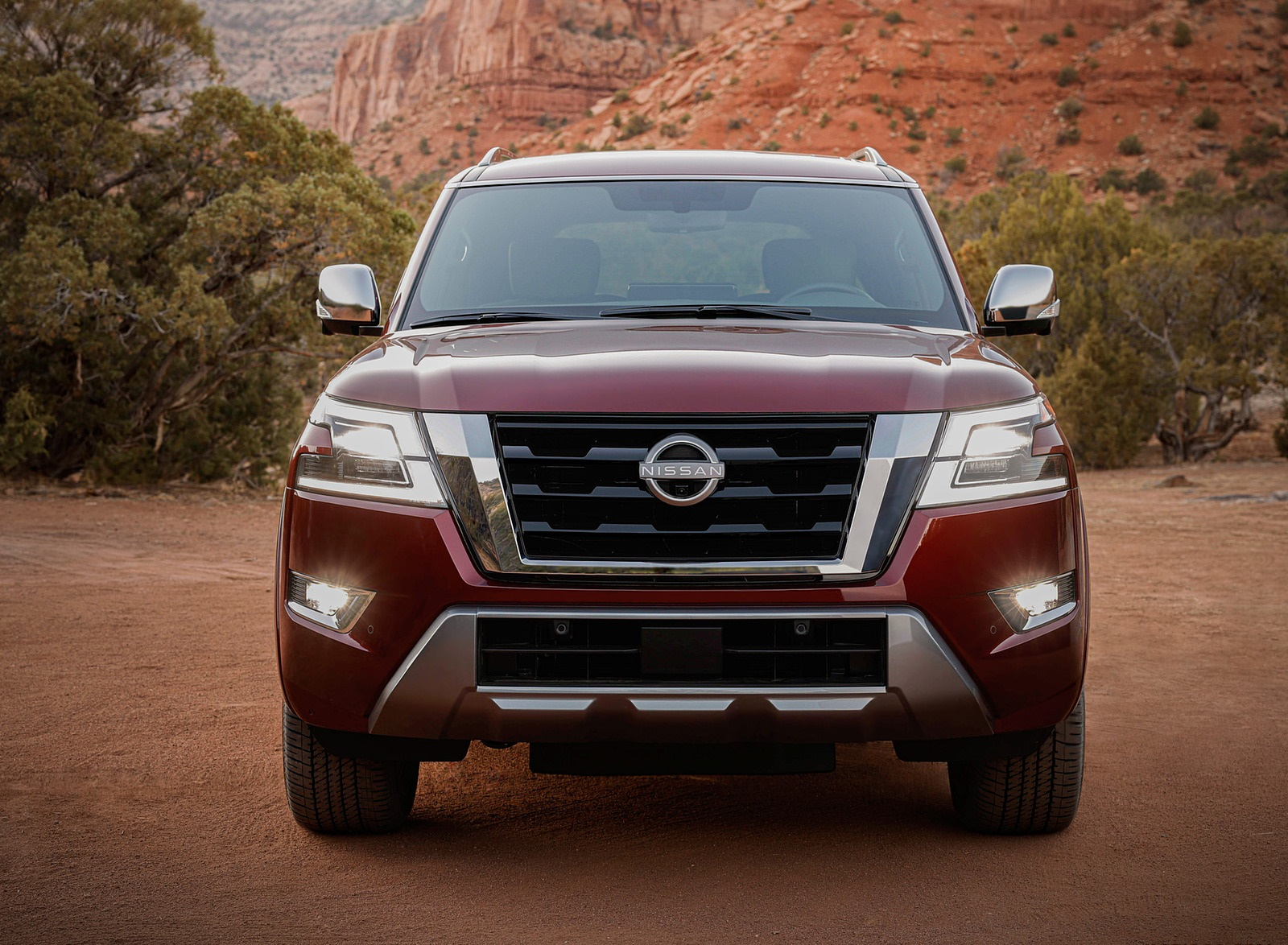 2021 Nissan Armada Front Wallpapers (9)