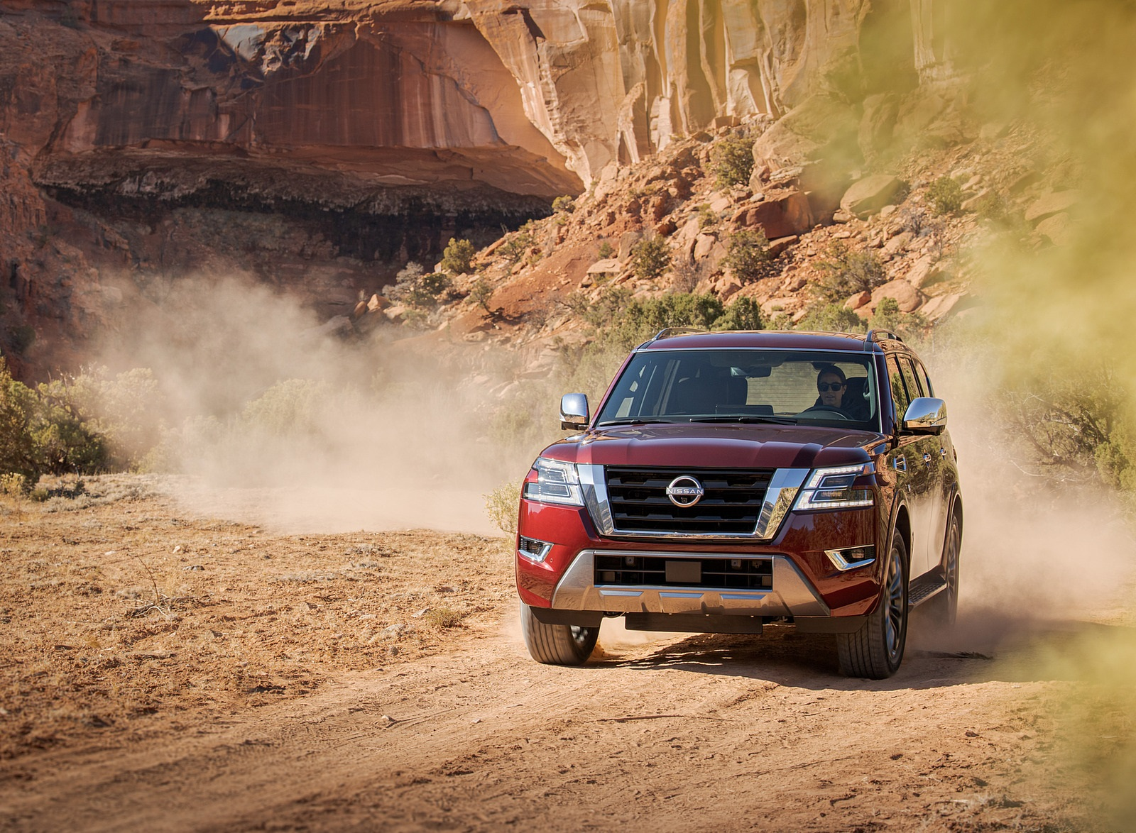 2021 Nissan Armada Front Wallpapers (3)
