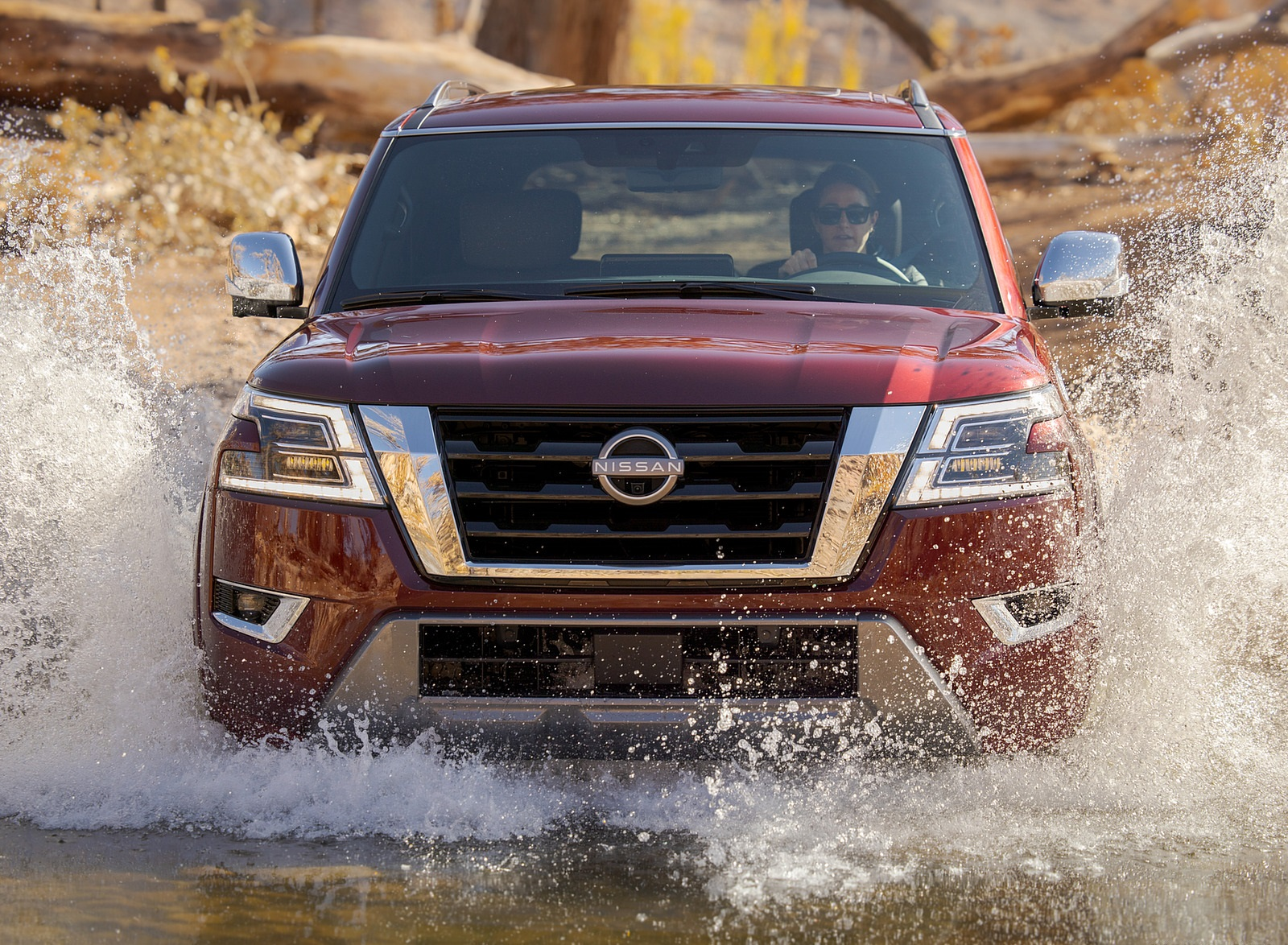 2021 Nissan Armada Off-Road Wallpapers (5)