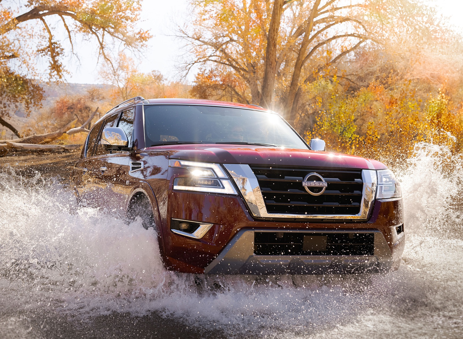 2021 Nissan Armada Off-Road Wallpapers (6)