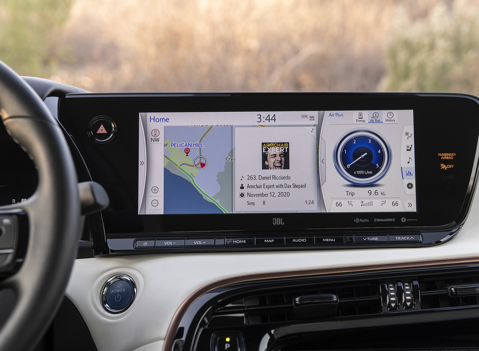 2021 Toyota Mirai FCEV Central Console Wallpapers (9)
