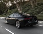 2021 Toyota Mirai FCEV Limited (Color: Black) Rear Three-Quarter Wallpapers 150x120 (27)