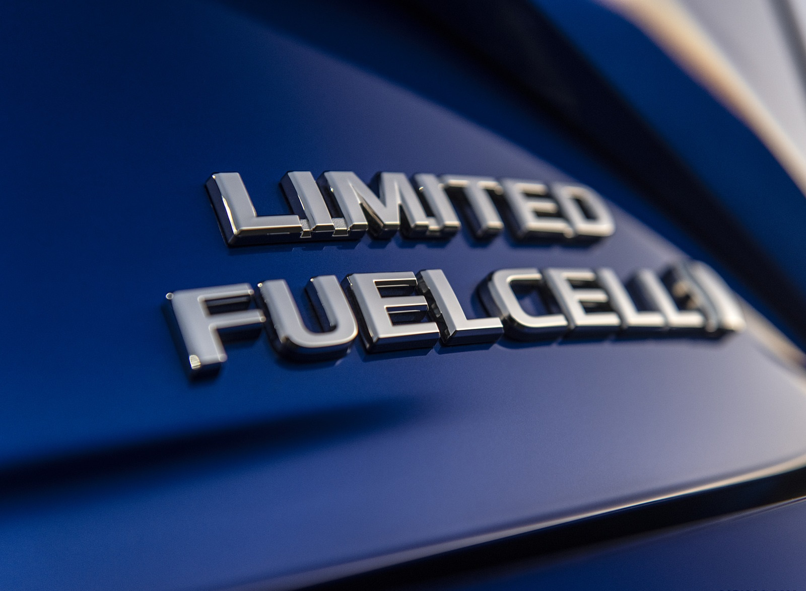 2021 Toyota Mirai FCEV Limited (Color: Hydro Blue) Badge Wallpapers (7)