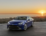 2021 Toyota Mirai FCEV Limited (Color: Hydro Blue) Front Three-Quarter Wallpapers 150x120 (2)
