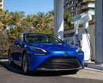 2021 Toyota Mirai FCEV Limited (Color: Hydro Blue) Front Wallpapers 150x120 (4)
