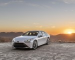 2021 Toyota Mirai FCEV Limited (Color: Oxygen White) Front Three-Quarter Wallpapers 150x120 (21)