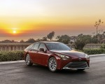 2021 Toyota Mirai FCEV XLE (Color: Supersonic Red) Front Three-Quarter Wallpapers 150x120 (16)