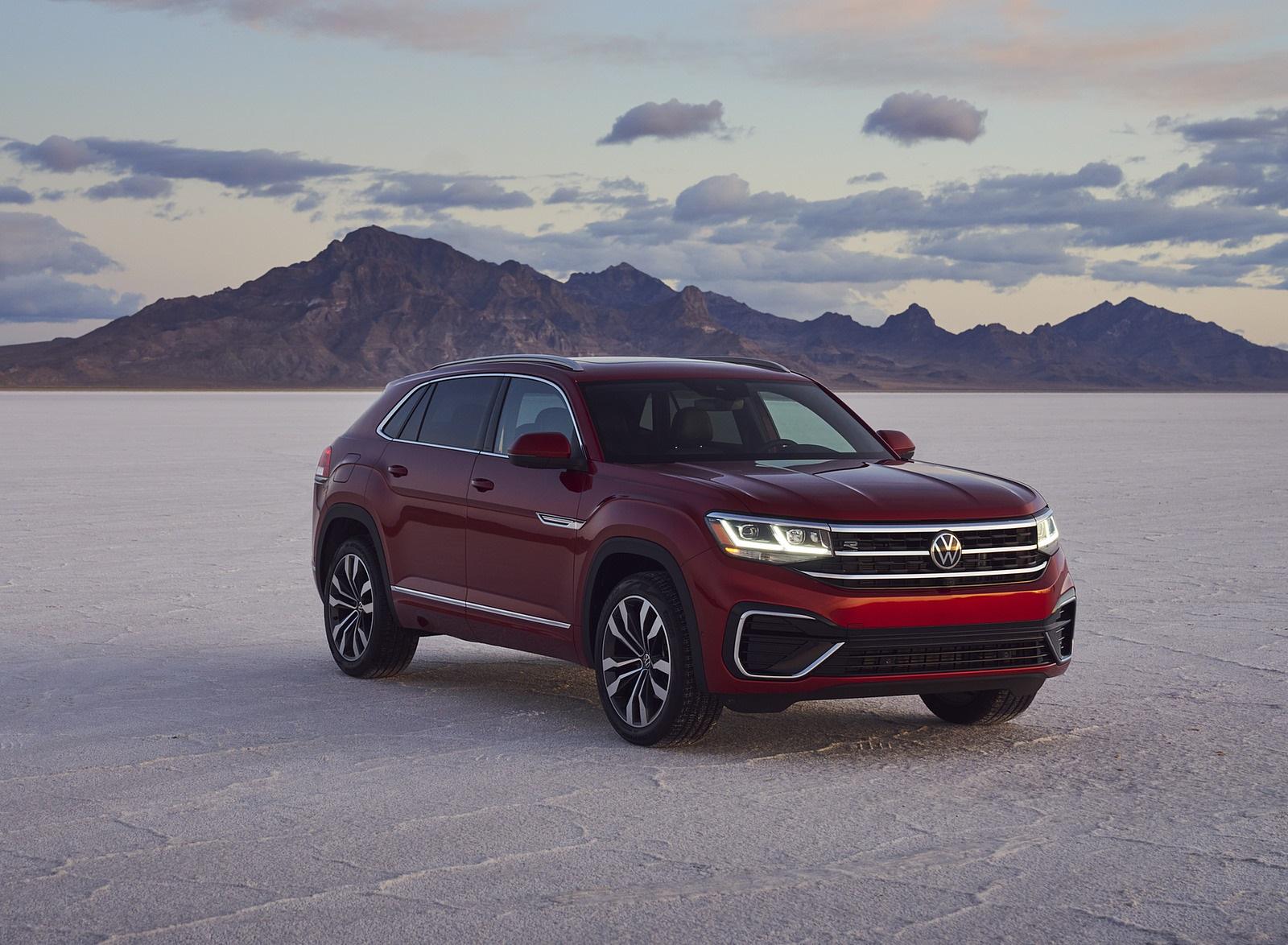 2021 Volkswagen Atlas Cross Sport Front Three-Quarter Wallpapers (9)