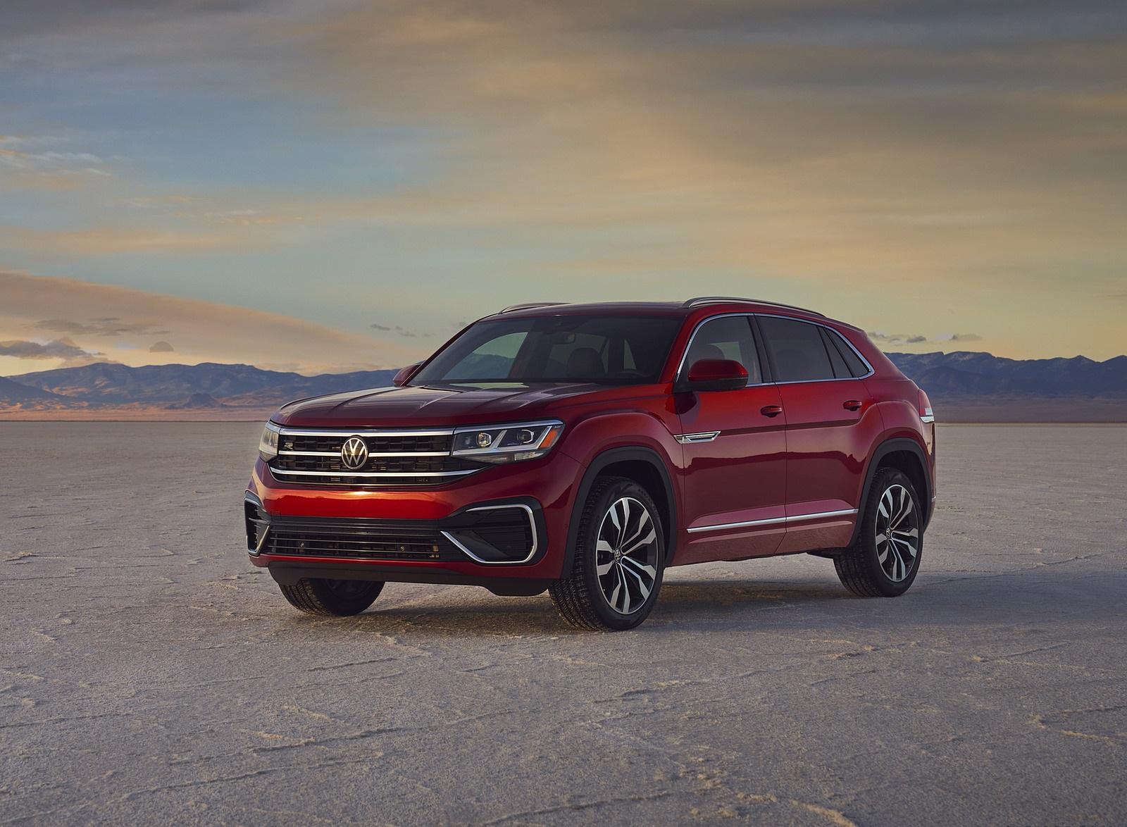 2021 Volkswagen Atlas Cross Sport Front Three-Quarter Wallpapers  (10)