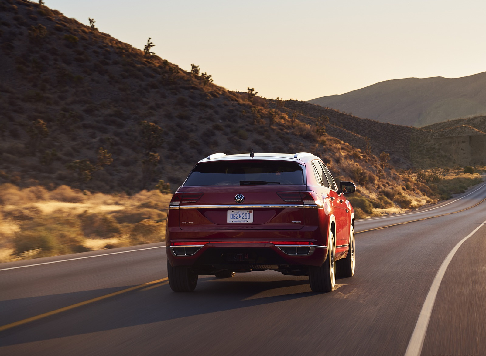 2021 Volkswagen Atlas Cross Sport Rear Wallpapers (6)