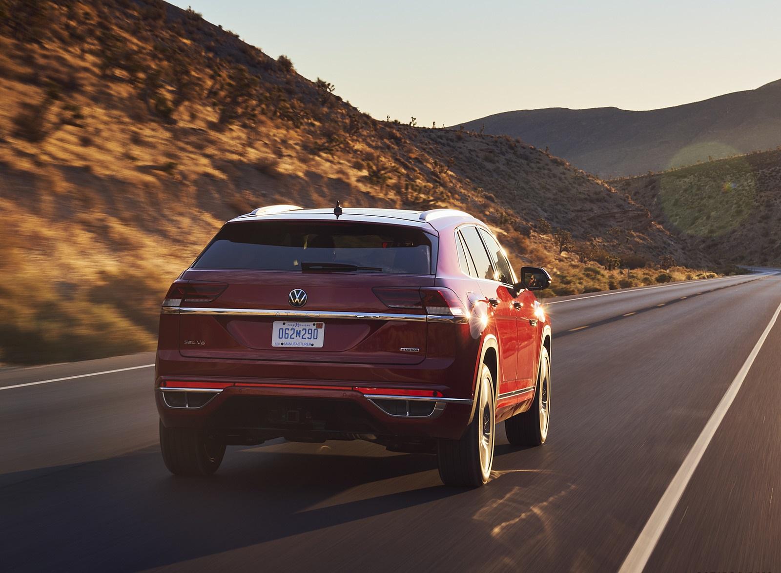 2021 Volkswagen Atlas Cross Sport Rear Wallpapers  (8)