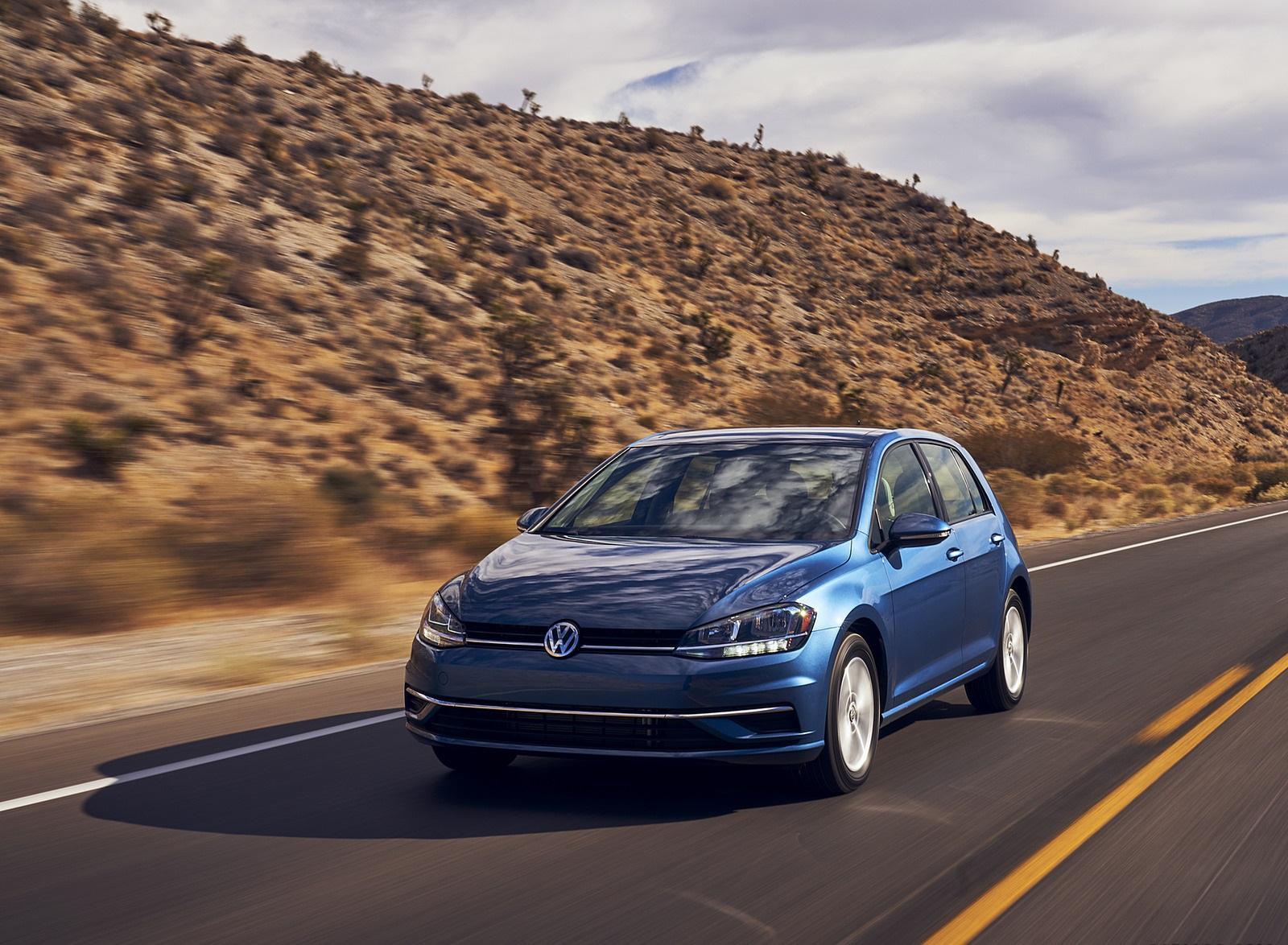2021 Volkswagen Golf (US-Spec) Front Wallpapers (1)