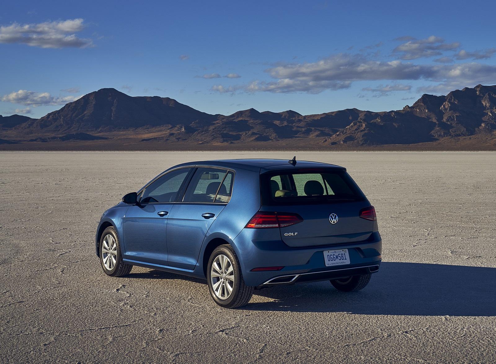 2021 Volkswagen Golf (US-Spec) Rear Three-Quarter Wallpapers  (10)