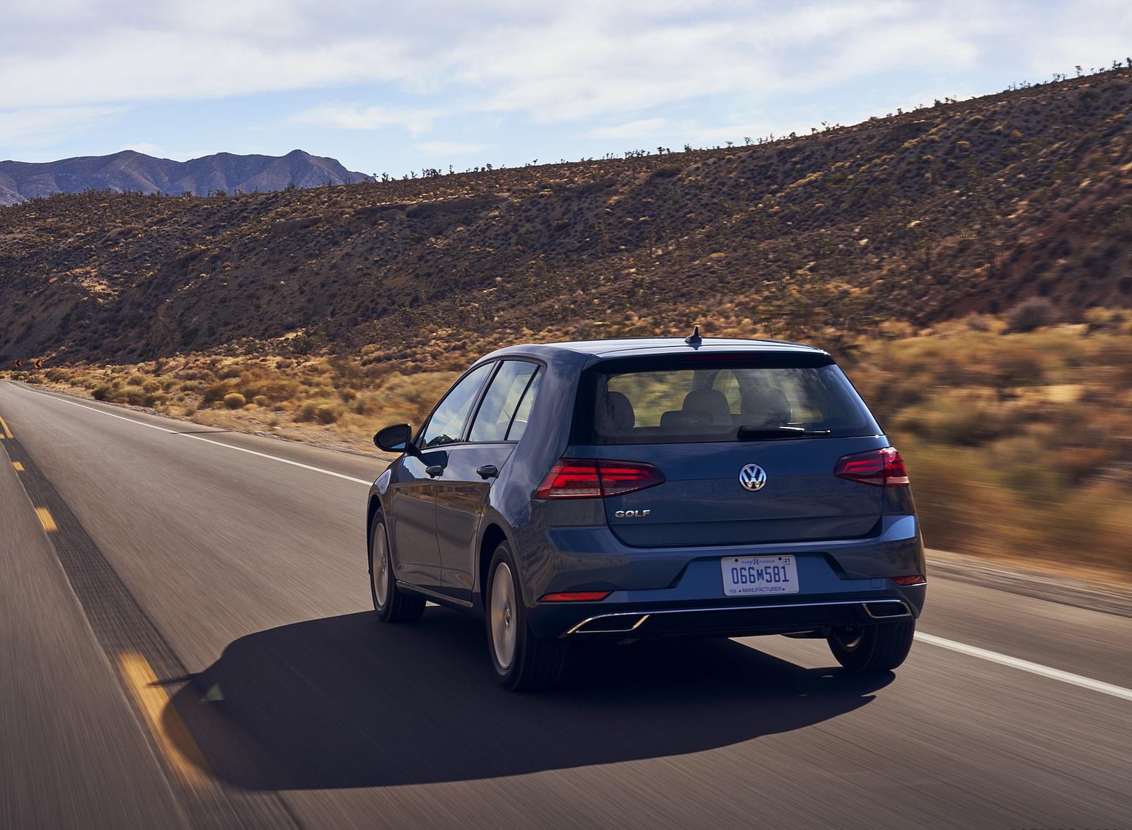 2021 Volkswagen Golf (US-Spec) Rear Wallpapers  (4)