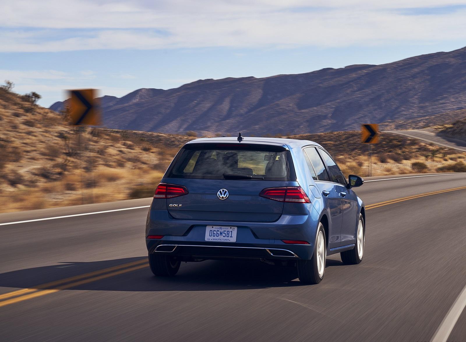 2021 Volkswagen Golf (US-Spec) Rear Wallpapers (5)