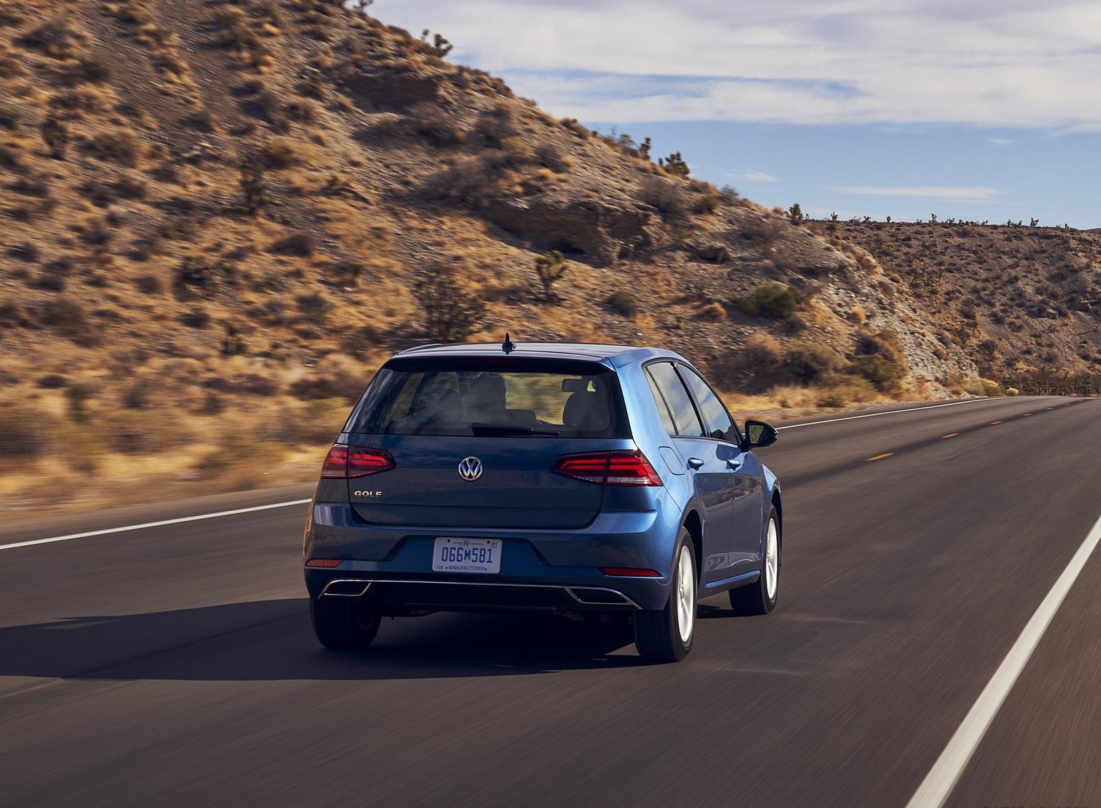 2021 Volkswagen Golf (US-Spec) Rear Wallpapers (6)