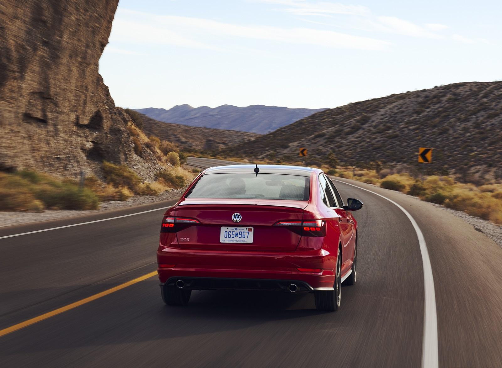 2021 Volkswagen Jetta GLI (US-Spec) Rear Wallpapers (5)