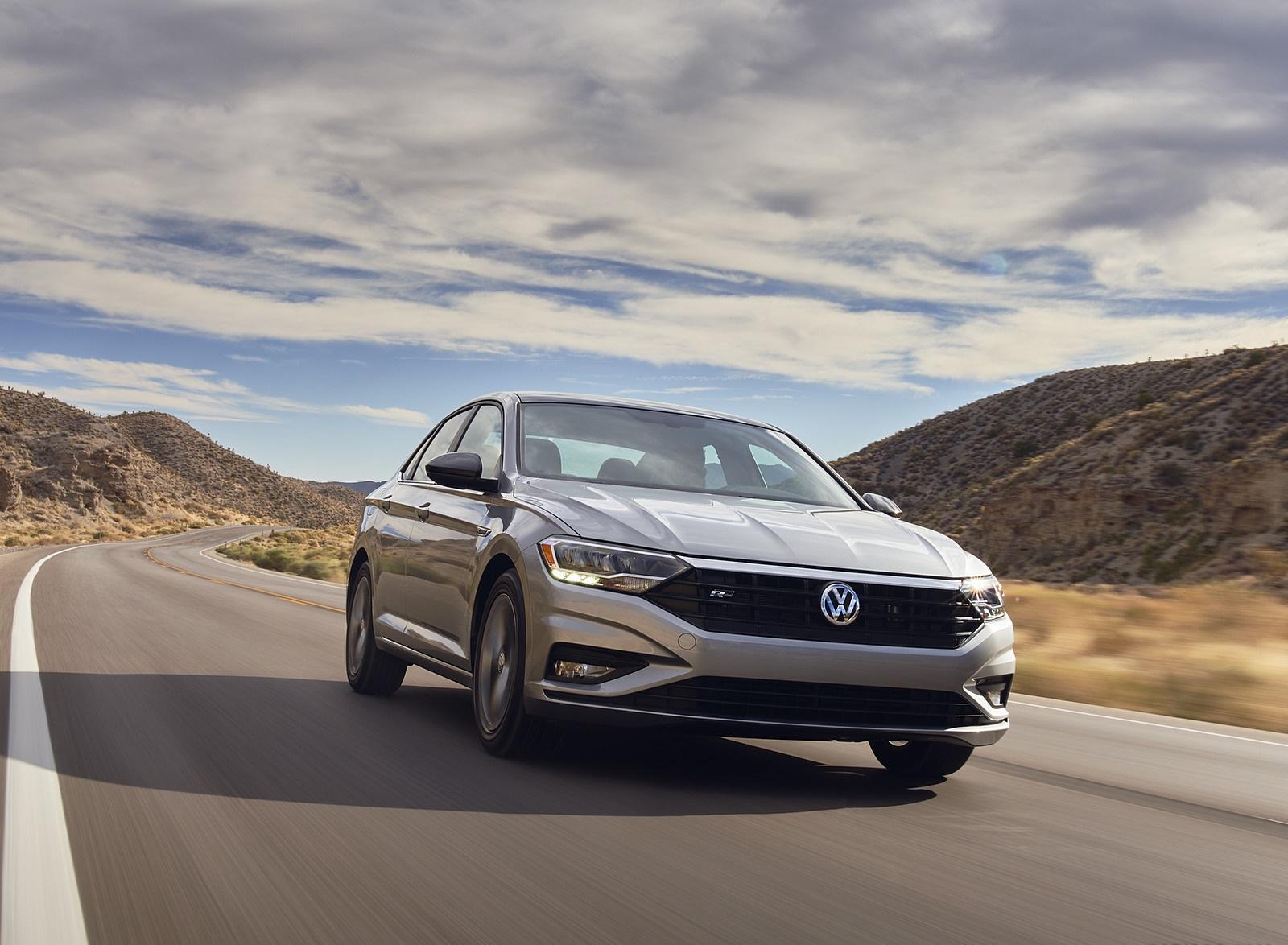 2021 Volkswagen Jetta (US-Spec) Front Wallpapers (1)