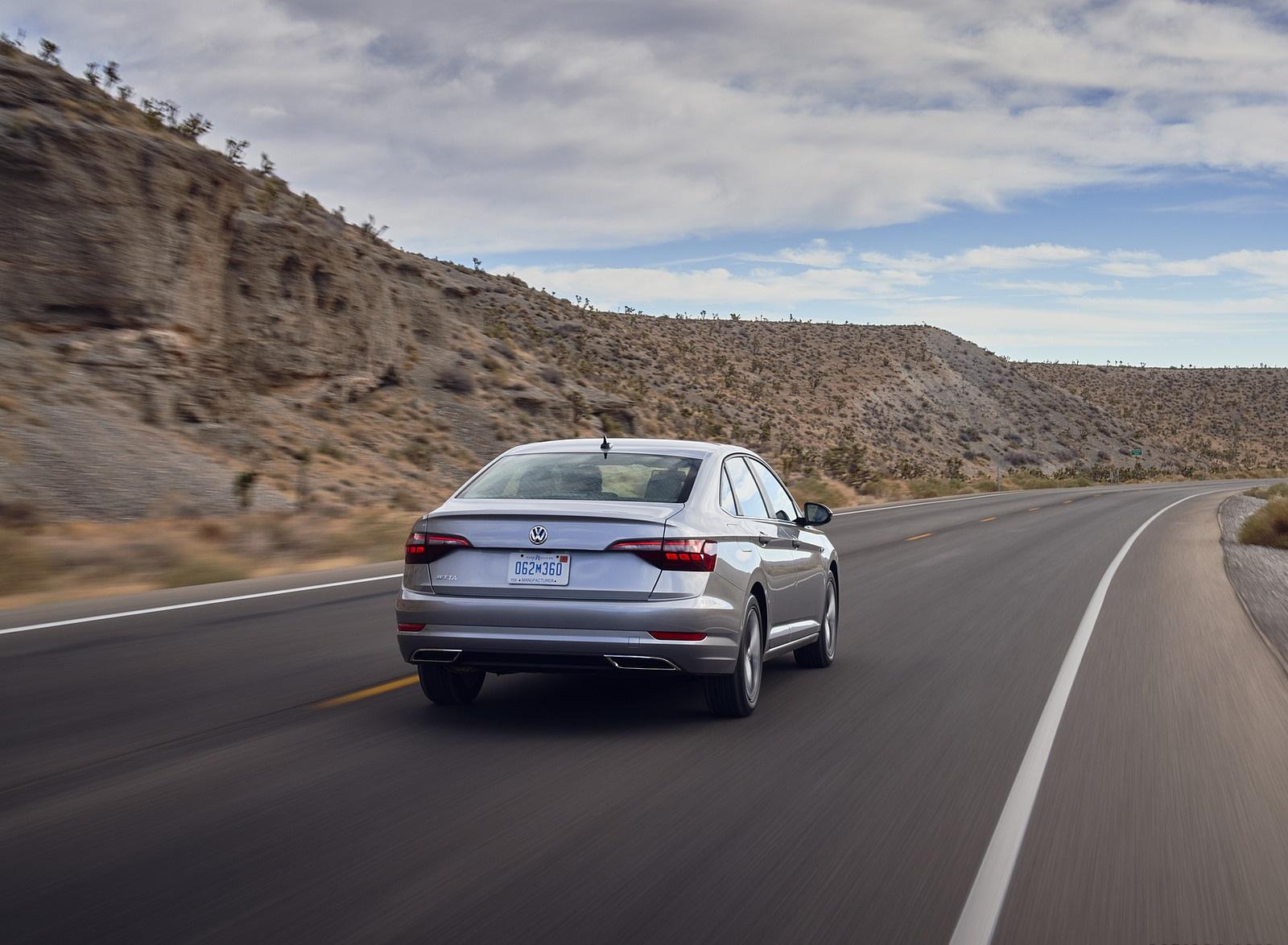 2021 Volkswagen Jetta (US-Spec) Rear Wallpapers (5)