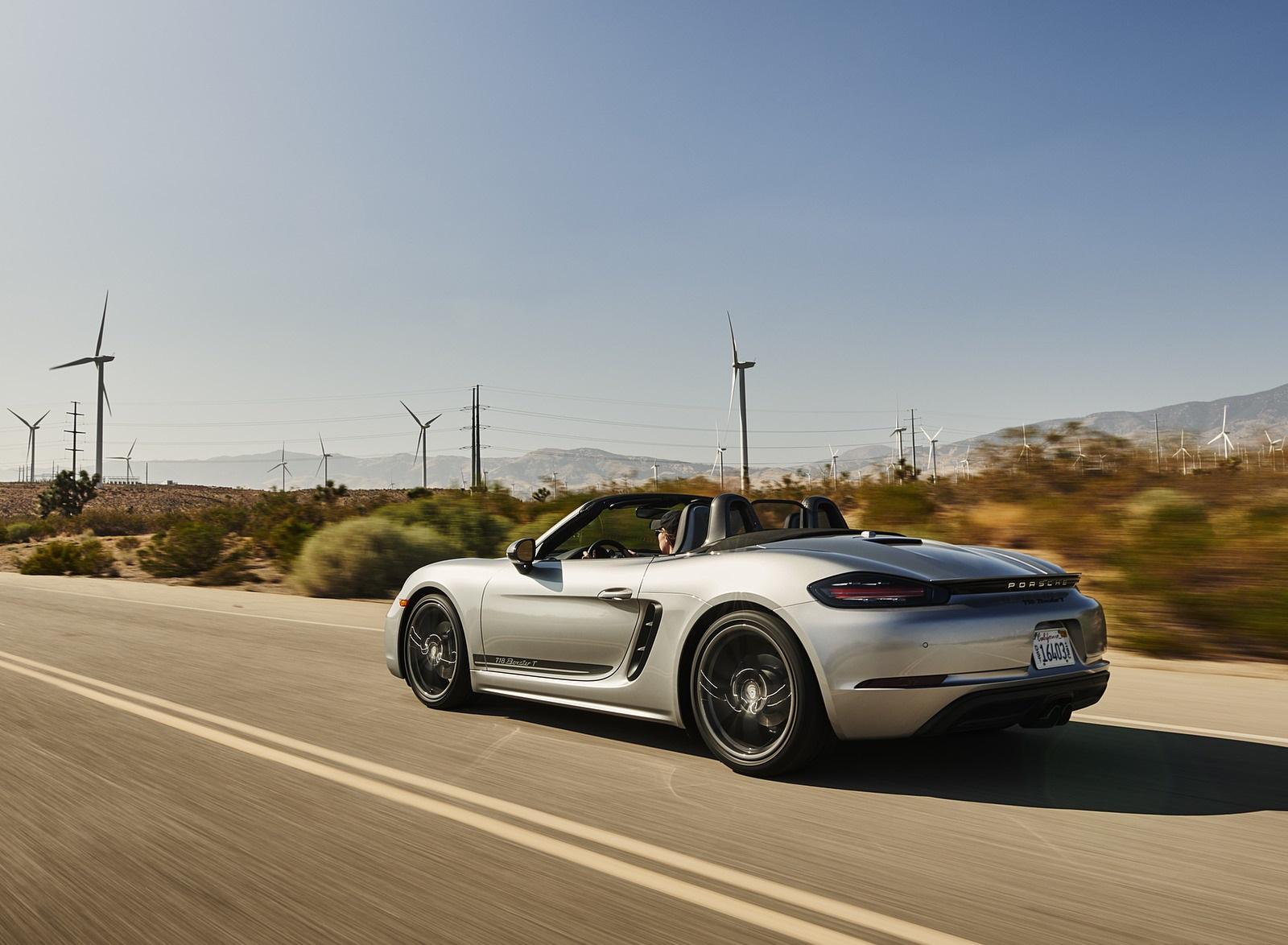 2020 Porsche 718 Boxster T Rear Three-Quarter Wallpapers (8)