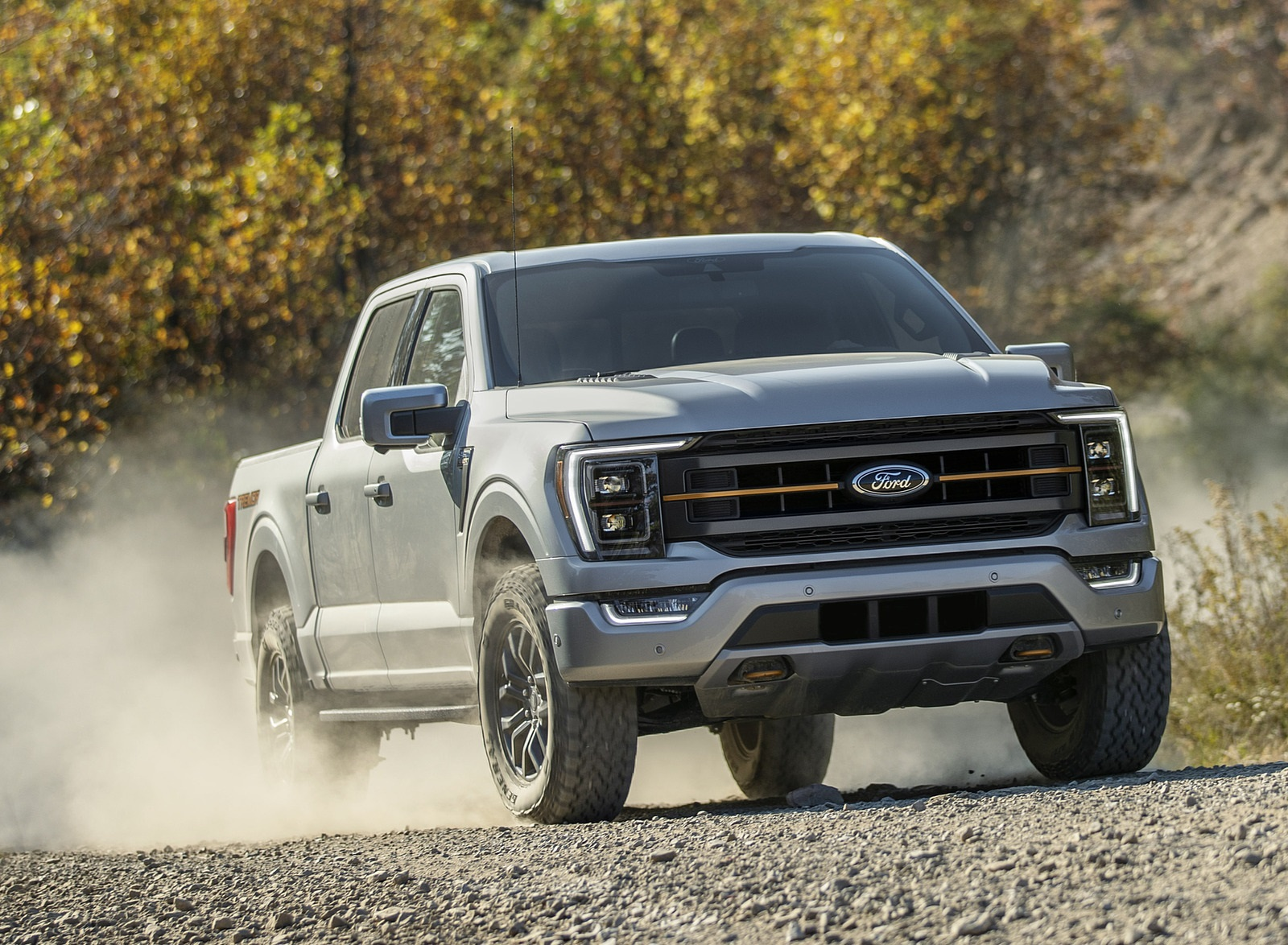 2021 Ford F-150 Tremor Front Three-Quarter Wallpapers  (1)