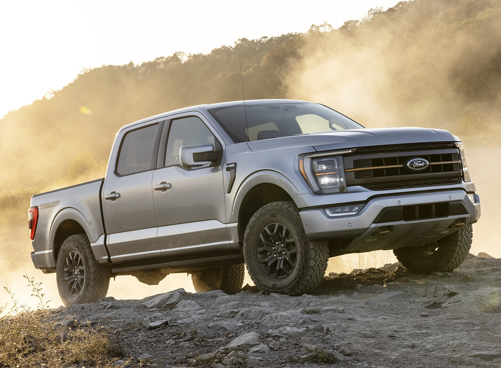 2021 Ford F-150 Tremor Front Three-Quarter Wallpapers (2)