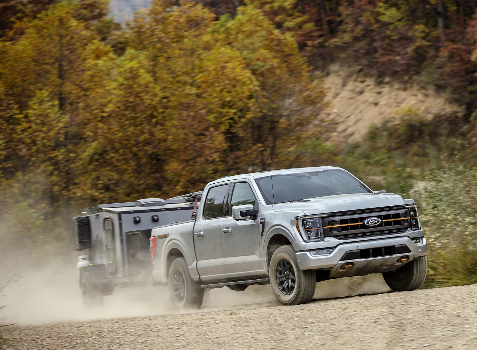 2021 Ford F-150 Tremor Front Three-Quarter Wallpapers (4)