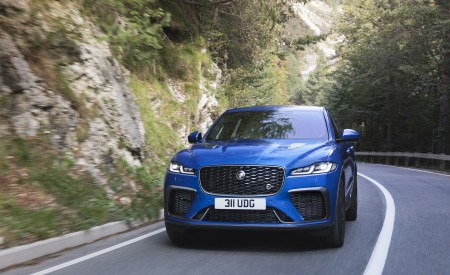 2021 Jaguar F-PACE SVR Wallpapers HD