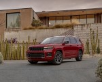 2021 Jeep Grand Cherokee L Overland Front Three-Quarter Wallpapers 150x120 (22)