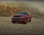 2021 Jeep Grand Cherokee L Overland Front Three-Quarter Wallpapers 150x120 (12)